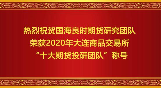 大商所2020十大期货投研团队
